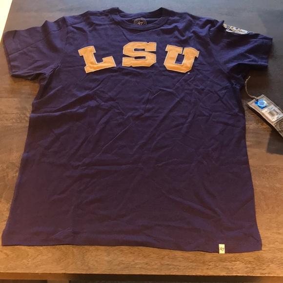 49ad00ba7 Forty Seven Brand Shirts   Lsu Banner 47 Fieldhouse Basic Tshirt ...